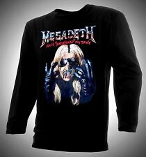 MEGADETH T-SHIRT, DAVE MUSTAIN RATTLEHEAD, FREE SHIPPING!!!