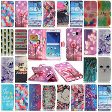 Wallet Leather Stand Case Cover For Samsung Galaxy G355H G357 G360 S3 S4 S5 Mini