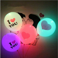 12'' LED Hellium Air Color Changing Balloons Wedding Decoration Party Light Up