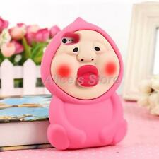 New 3D Japan Fart Peach Jun Soft Silicone Case Cover for Apple iPhone 6 6Plus 5S