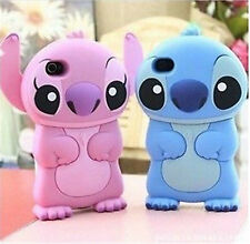 Cute Cartoon Stich Soft Silicone Case Cover for iPhone 6 6Plus 5S Touch 5Gen 5th