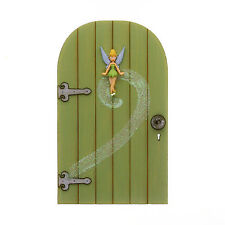 Door garden bell ebay for Tinkerbell fairy door