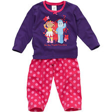 Baby Toddler Girls In The Night Garden Upsy Daisy Cotton Long Sleeve Pyjamas