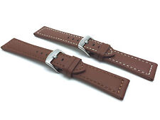 Tan Leather Watch Strap Band, 20mm, 22 24 26 28mm fits Fossil, Hamilton & More