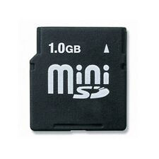 1GB MiniSD Memory Card Mini SD For Older Devices MP3 Player GPS Mobile Phone PDA