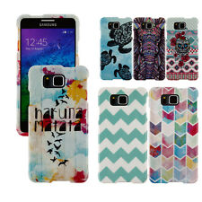For Samsung Galaxy Alpha G850 Aztec Design SNAP ON Hard Protector Case Cover