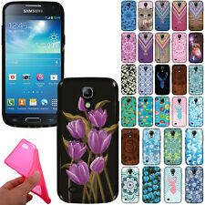 For Samsung Galaxy S4 mini I9190 TPU Flexible Silicone Gel Skin Back Case Cover