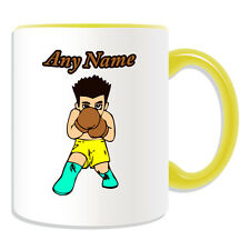 Personalised Gift Boxer Boy Mug Money Box Cup Kung Fu Kungfu Boxing MMA Tea Name