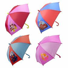 Disney Junior Tv & Film Printed Character Childrens Brolly Umbrella Kids Unisex