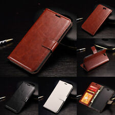 Luxury PU Leather Wallet Card Photo Holder Cover Kickstand Case For HTC ONE A9