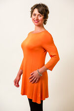 Bamboo Dress or Tunic with Boat Neck
