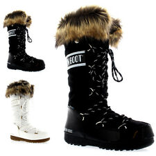 Womens Tecnica Original Moon Boot Monaco Waterproof Knee High Snow Boots UK 3-8