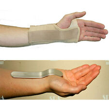 Vulkan WRIST SUPPORT with REMOVEABLE Metal SPLINT Carpal Tunnel Syndrome Pain