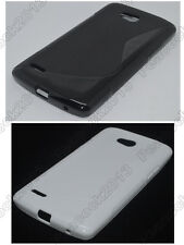 Multi Color S-Types TPU Silicone CASE Cover For LG L80 Series III L80