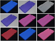 Multi Color Matting TPU Silicone CASE Cover For Sony Xperia Z L36h C6603