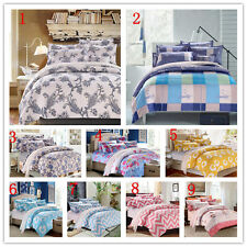 Waves Single Double Twin Full Queen Size Bed Set Pillowcases Quilt Duvet Cover