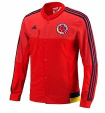 Adidas Men FCF Colombia Anthem Top Jackets Red Long Football Soccer GYM M36365