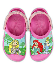 NEW Girls Crocs Magical Day Princess Clogs Shoes SZ 6/7 8/9 10/11 12/13 1 2
