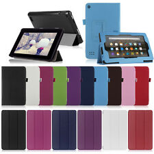 For New Amazon Kindle Fire 7 2015 Tablet Magnetic Flip Leather Stand Case Cover