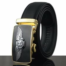 Fashion Casual New Mens Automatic Buckle Genuine Real Leather Waist Strap Belts