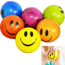 Happy Smile Face Anti Stress Relief Sponge Foam Ball  Wrist Squeeze Exercise I