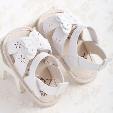 Summer Newborn Baby Girl First Walker Shoes Infant Walker Crib Sandals 3 Size