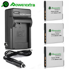 NP-BN1 NPBN1 Battery + Charger For Sony Cybershot DSC-W310 W330 W530 W650 W730