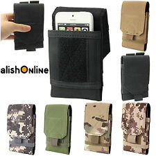 Army Camo Belt Pouch Universal Case Cover Holster for iPhone Samsung All Mobiles