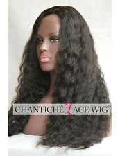 Indian Remy Human Hair Lace Front Wig Deep Curly Wig For Black Women 150 Density