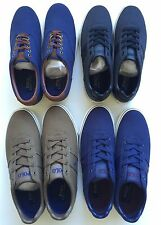 NWT POLO RALPH LAUREN MENS HANFORD CANVAS/LEATHER SNEAKER