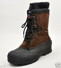 "LABO Men's Brown 10"" Winter Snow Hunting Boots Shoes Insulated Waterproof 108"