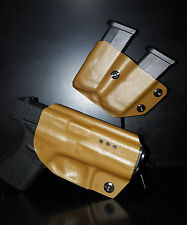 GLOCK Man Kydex GLOCK 42 / 43 holster & double mag pouch