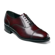 Florsheim Lexington Cap Toe  mens shoes Burgundy leather lace up dressy 17067-05