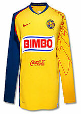 NIKE CLUB AMERICA AGUILAS LONG SLEEVE HOME JERSEY 2007/08