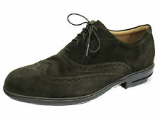 MENS ROCKPORT DARK CHOCOLATE SUEDE LACE UP SHOES AMP1286C