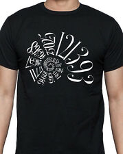FIBONACCI SEQUENCE Organic Black T-shirt by Cognitive Surplus, Made in USA