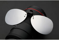 Outdoor Mirror Driving Clip On Lenses Flip Up Polarized Sunglasses Fishing