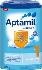 8 x Aptamil - Baby food formula = PRE, 1, 2, 3, 1+ and 2+ * Direct from Germany
