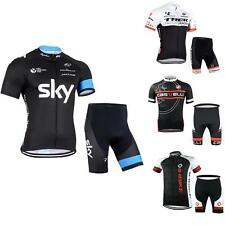 Cycling Bike Short Sleeve Sports Clothing Bicycle Suit Jersey Shorts Pants Sets