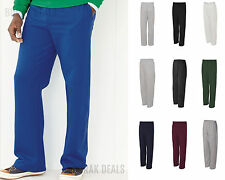 JERZEES NuBlend Open Bottom Pocketed Sweatpant Mens Sweatpant S-3XL 974MPR-974MP
