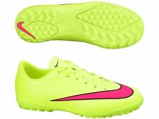 NIKE MERCURIAL VICTORY V TF JUNIOR YOUTH INDOOR SOCCER FUTSAL SHOES Volt/Black/H
