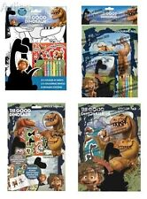 The Good Dinosaur -  Colouring Set, Stickers, Sticker Pad, Colouring Books