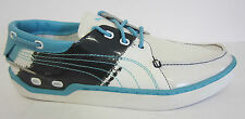 SALE Puma Decker Stripes 184311 01 White-New Navy-Blue Mist