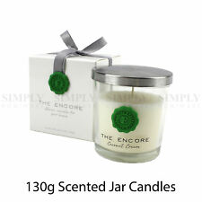 Scented Jar Candles Soy Wax Candle Floral Fruit Natural Scents Fragrance 130g
