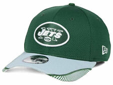 NEW YORK JETS NEW ERA NFL VISOR HASH 39THIRTY CAP SIZE M/L GREEN/GRAY UNISEX