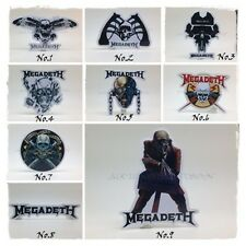 New Megadeth Sticker Decal Vinyl Rock Band Heavy Metal Music Car Window Bumper