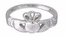 Claddagh Ring, Petit Celtic Unisex 316L Stainless Steel Ring