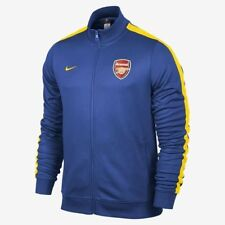 NIKE ARSENAL AUTHENTIC N98 JACKET Royal/Gold.
