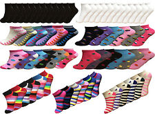 Ladies Sports Trainer Socks pack Of 3,6,12 Gym/Sports/Trainer Socks Size 4-7