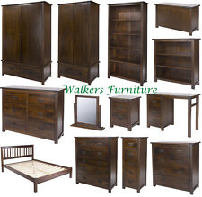 Dark Wood Furniture | Wardrobe | Chest of Drawers | Bedsides | Dressing Tables
